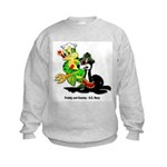 US Navy Freddy & Sammy Kids Sweatshirt