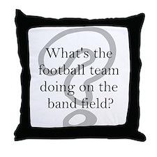 Band Throw Pillow