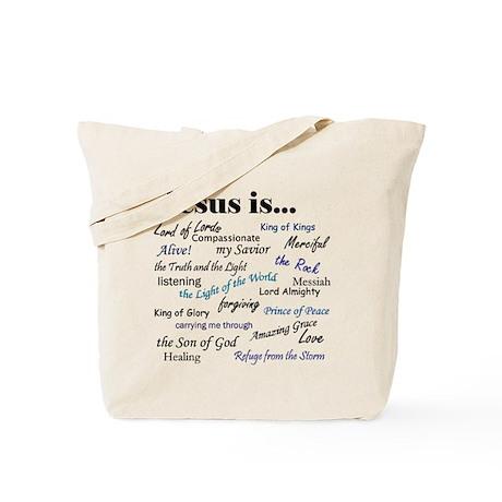 Jesus Is Tote Bag
