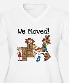 Unpacking We Moved T-Shirt