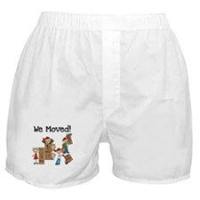 Unpacking We Moved Boxer Shorts
