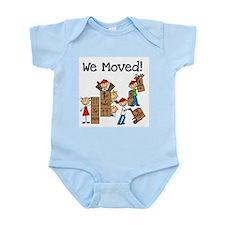Unpacking We Moved Infant Bodysuit