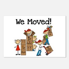 Unpacking We Moved Postcards (Package of 8)