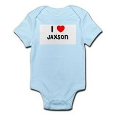 I LOVE JAXSON Infant Creeper