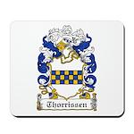 Thorrissen Coat of Arms Mousepad