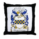 Thorrissen Coat of Arms Throw Pillow