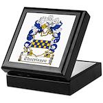 Thorrissen Coat of Arms Keepsake Box
