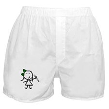 Girl & Recorder Boxer Shorts