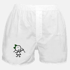 Girl & Recorder Boxer Shorts