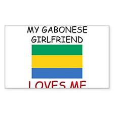 My Gabonese Girlfriend Loves Me Decal