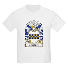 Thorsen Coat of Arms Kids T-Shirt