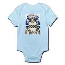 Thorsen Coat of Arms Infant Creeper
