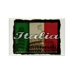 Italian pride Rectangle Magnet (100 pack)