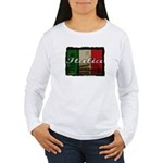 Italian pride Women's Long Sleeve T-Shirt