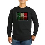 Italian pride Long Sleeve Dark T-Shirt