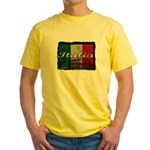 Italian pride Yellow T-Shirt