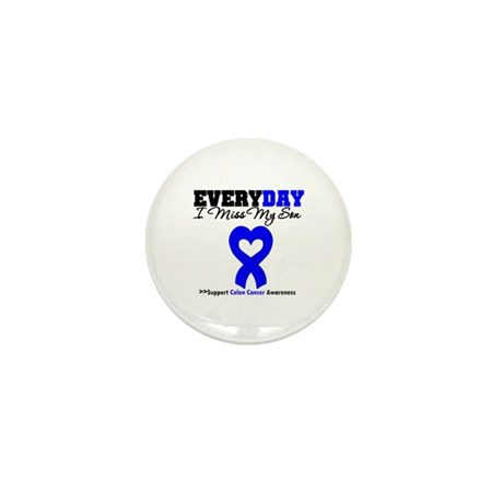 ColonCancerHeart Son Mini Button