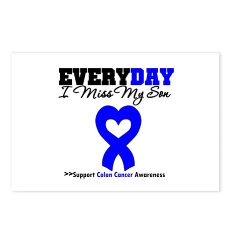 ColonCancerHeart Son Postcards (Package of 8)