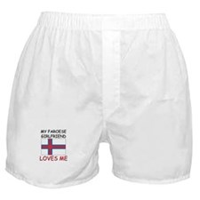 My Faroese Girlfriend Loves Me Boxer Shorts