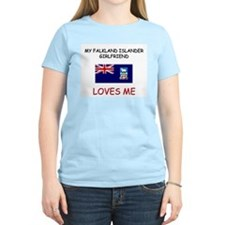 My Falkland Islander Girlfriend Loves Me T-Shirt