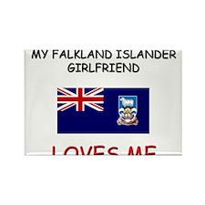 My Falkland Islander Girlfriend Loves Me Rectangle
