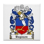 Vognsen Coat of Arms Tile Coaster