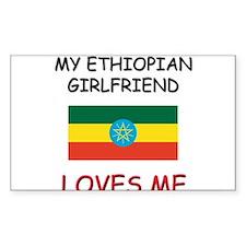 My Ethiopian Girlfriend Loves Me Decal