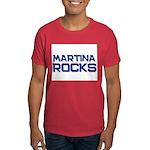 martina rocks Dark T-Shirt