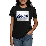 martina rocks Women's Dark T-Shirt