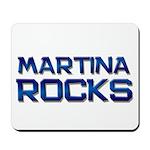 martina rocks Mousepad