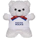 martina rocks Teddy Bear