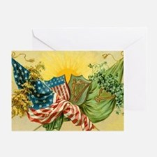 American Irish Greeting Card