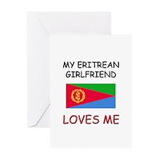 My Eritrean Girlfriend Loves Me Greeting Card