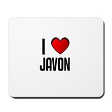 I LOVE JAVON Mousepad
