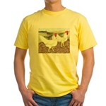 Chickens On The Farm Yellow T-Shirt