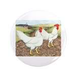"Chickens On The Farm 3.5"" Button (100 pack)"