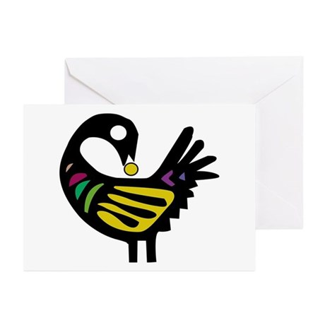 Sankofa Bird Greeting Cards (Pk of 10)