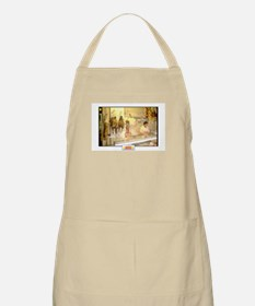 Italian Butcher Shop with Game BBQ Apron