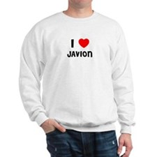 I LOVE JAVION Sweatshirt