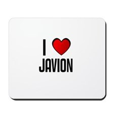 I LOVE JAVION Mousepad