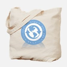 Recycle Daily - Save The Worl Tote Bag