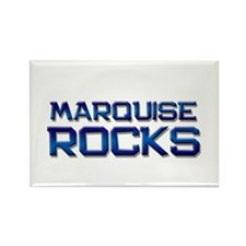 marquise rocks Rectangle Magnet