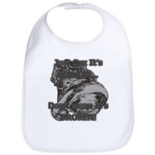 Don't Mean It's Broken! - Diesel - Racing Baby Bib