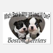 Boston Terrier Love Postcards (Package of 8)