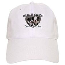 Boston Terrier Love Baseball Cap