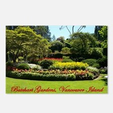 Flowers BG, VI Postcards (Package of 8)
