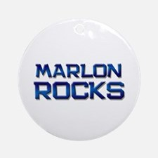 marlon rocks Ornament (Round)