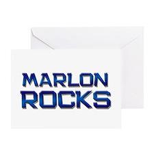 marlon rocks Greeting Card