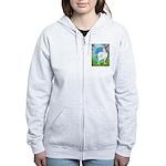 Opal Cornish Rooster Women's Zip Hoodie