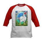 Opal Cornish Rooster Kids Baseball Jersey